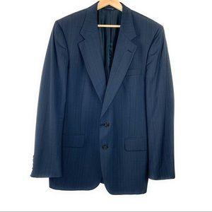 Men's Navy Vintage Burberry Blazer